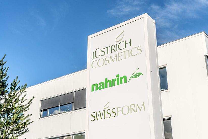 Jüstrich Cosmetics Hauptsitz