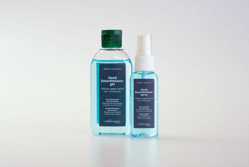 Hautfreundliches Desinfektionsmittel